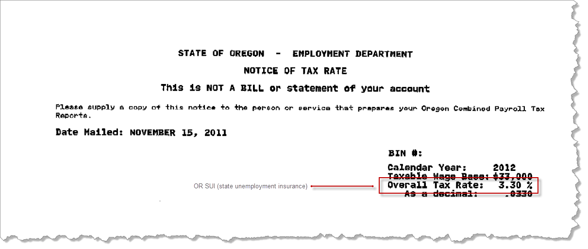 Open the Oregon SUI rate notice in a separate window.